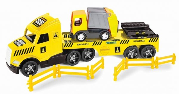 WADER Magic Truck Technic laweta ze śmieciarką