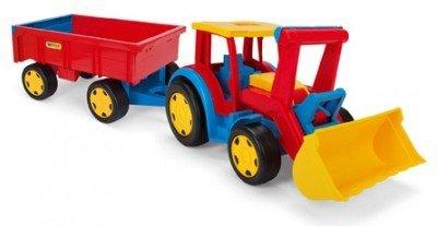 Gigant Traktor ładowarka z przyczepą Wader 66300