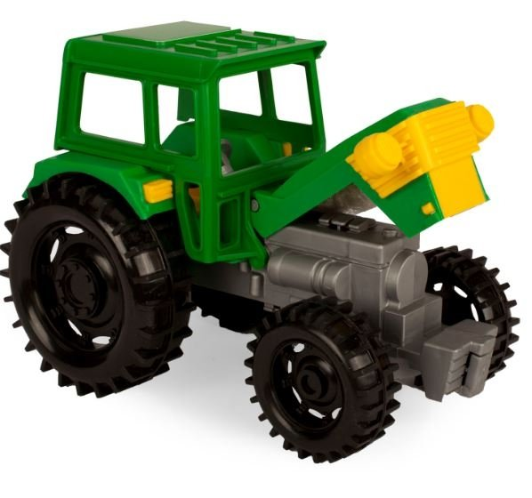 Traktor Farmer z przyczepą Wader 35022