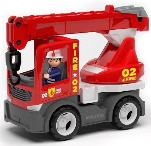 Multigo Fire dźwig ze strażakiem IGRACEK