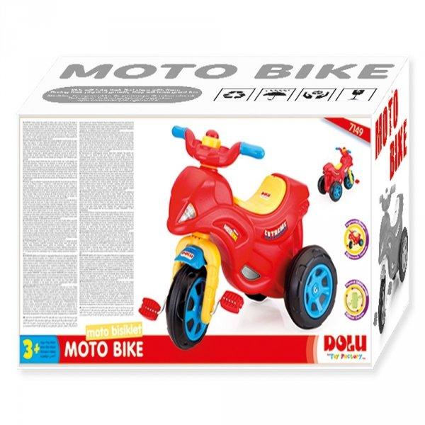 Motocykl na pedały z klaksonem DOLU - DL7149
