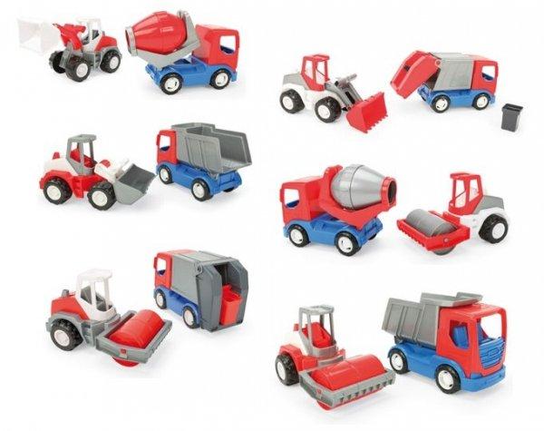 Tech Truck auta budowlane set 2 szt. w kartonie