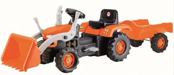Traktor Ładowarka na pedały z przyczepą  DOLU  DL8052