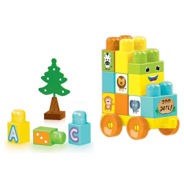 Klocki Baby Blocks 30 sztuk Wader 41440