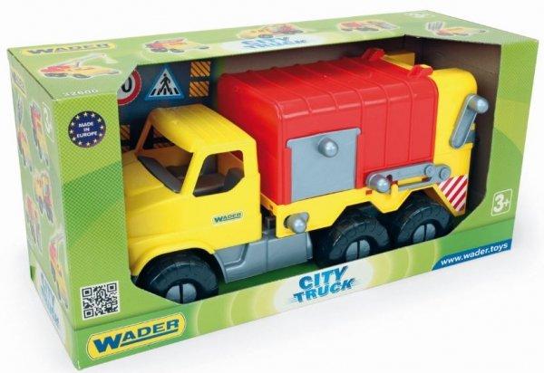 City Truck ciężarówka Śmieciarka Wader 32607