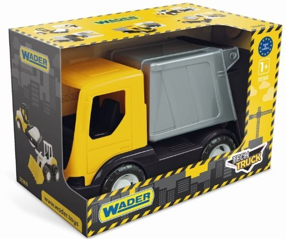 Tech truck śmieciarka  Wader 35361