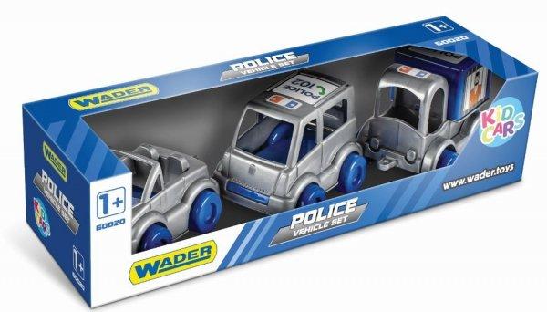 Kid Cars zestaw policja