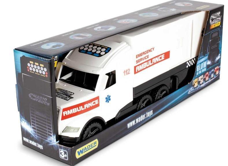 Wader 36210 Magic Truck ACTION - Ambulans