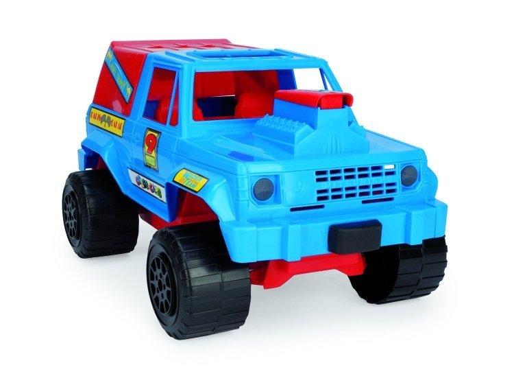 WADER 37090 Samochód terenowy JEEP niebieski