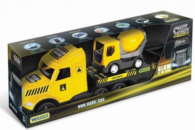 Magic Truck Technic laweta z betoniarką WADER 36460