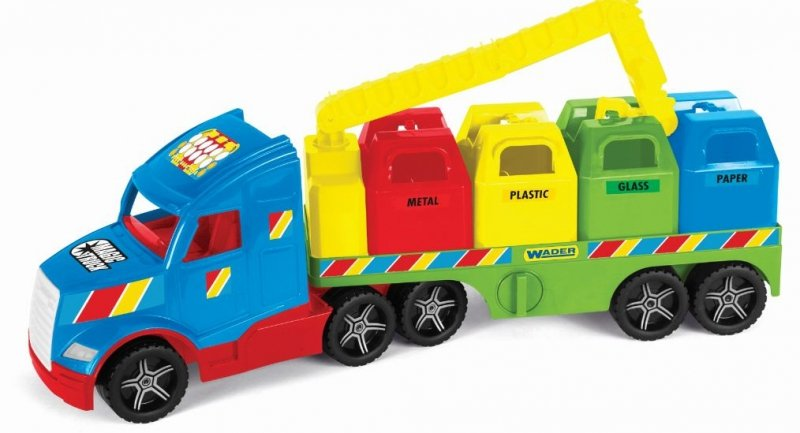 Magic Truck Basic śmieciarka WADER 36320