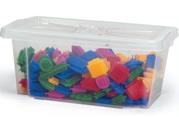 Wader Klocki Jeżyki - 180 elementów - 80164
