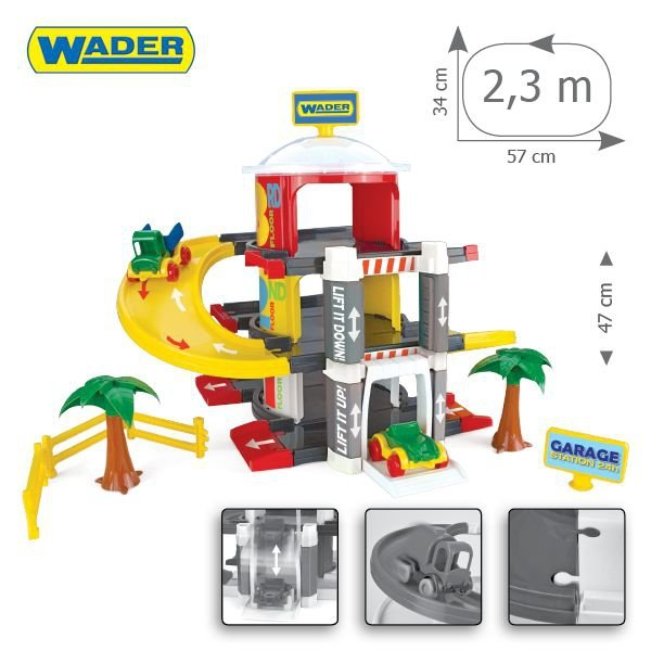 Wader Garaż z windą - 3 poziomy - 50310