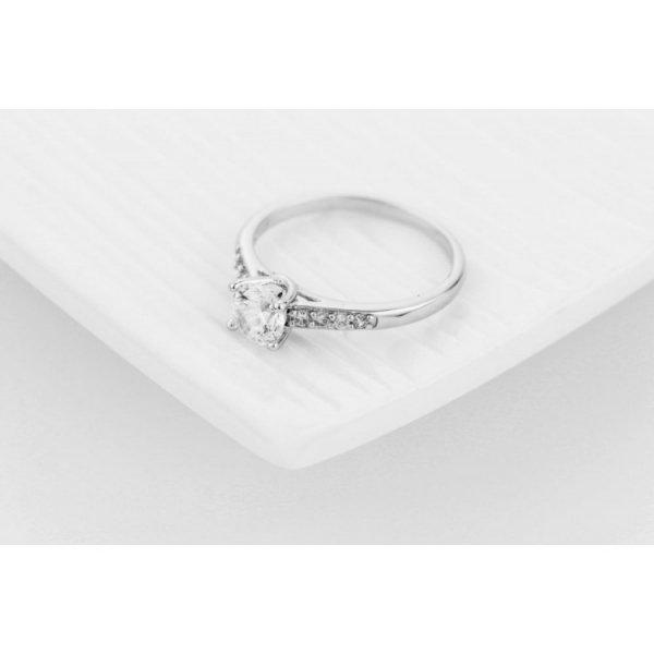 PIERŚCIONEK KRYSZTAŁKI STAL CHIRURGICZNA 468, Rozmiar pierścionków: US6 EU11