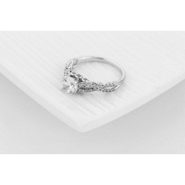 PIERŚCIONEK KRYSZTAŁKI STAL CHIRURGICZNA 471, Rozmiar pierścionków: US6 EU11