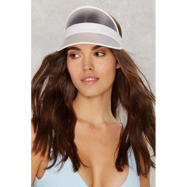 Transparent women's cap CZ10B