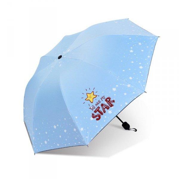 Parasol umbrella Star błękit PAR06N