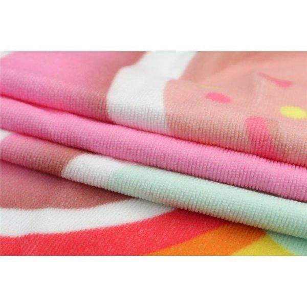 Ręcznik plażowy prostokątny duży 170x90 Ananas REC44WZ21