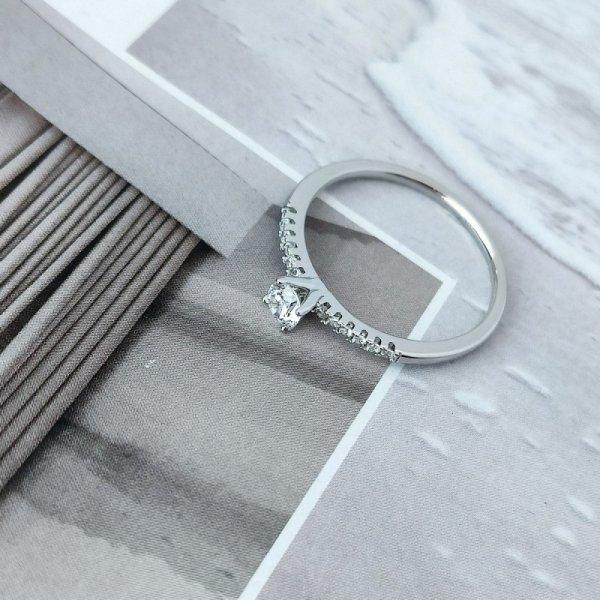 Pierścionek stal chirurgiczna platerowana złotem 561, Rozmiar pierścionków: US8 EU17