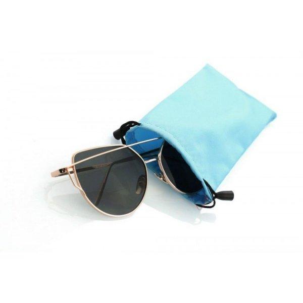 Etui na okulary niebieski ET03