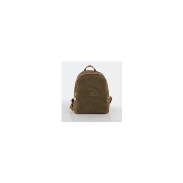 Plecak w kolorze brązowym