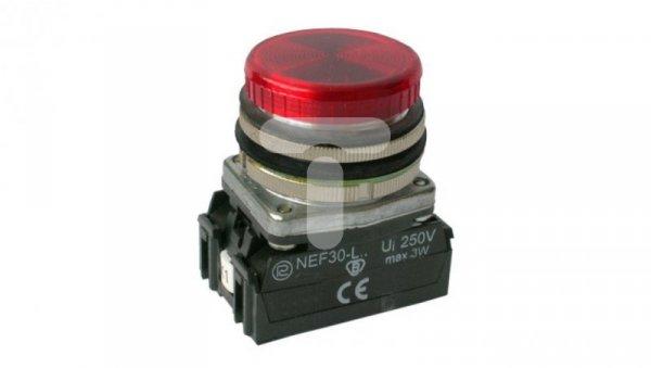 Lampka sygnalizacyjna 30mm czerwona 24-230V AC/DC W0-LDU1-NEF30LD/W3 C