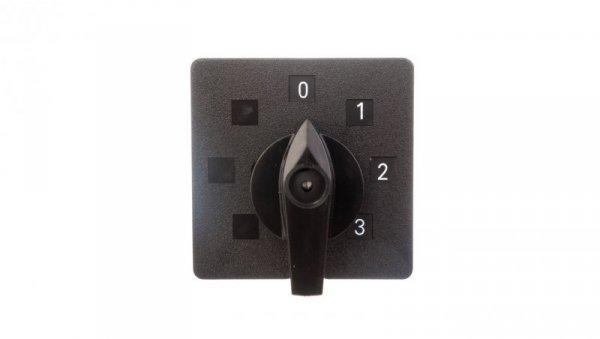 Łącznik krzywkowy 0-1-2-3 16A 3P do wbudowania ŁK15-2.8445P01