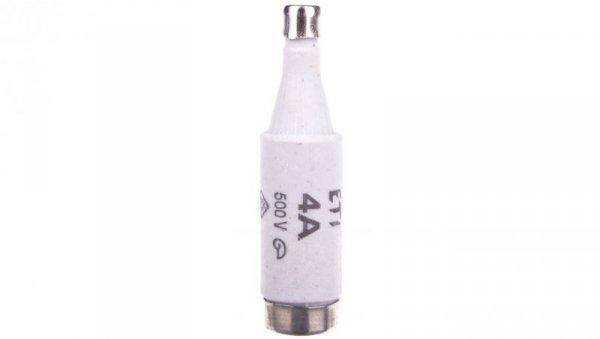 Wkładka bezpiecznikowa 4A DI gG 500V E16 002311402