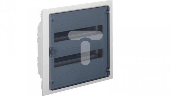 Rozdzielnica modułowa 2x18 podtynkowa IP40 Golf (drzwi transparentne) VF218TD