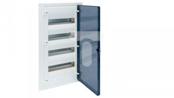 Rozdzielnica modułowa 4x12 podtynkowa IP40 Golf (drzwi transparentne) VF412TD