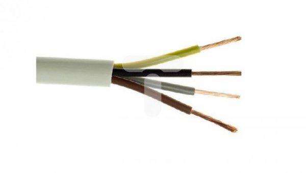 Przewód warsztatowy H05VV-F (OWY) 4x0,75 żo biały /100m/