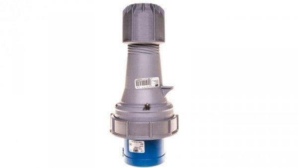 Wtyczka przenośna 63A 4P 230V niebieska IP67 POWER TWIST 034-9