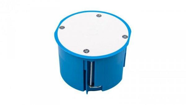 Puszka podtynkowa 70mm regips niebieska z pokrywą PV70 samogasnąca bezhalogenowa 32150203 /12szt./