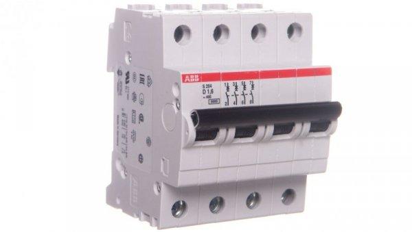 Wyłącznik nadprądowy 4P D 1,6A 6kA AC S204-D1,6 2CDS254001R0971