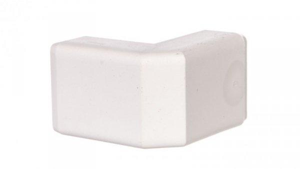 Pokrywa narożna zewnętrzna LHD 20x10mm biała 8926
