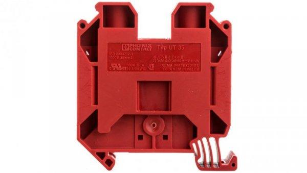 Złączka szynowa 2-przewodowa 35mm2 czerwona UT 35 RD 3044227 /50szt./