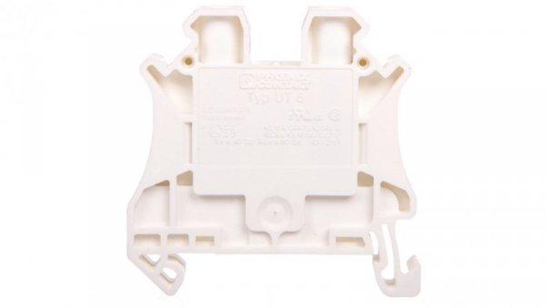 Złączka szynowa 2-przewodowa 6mm2 biała EX UT 6 WH 3045198 /50szt./