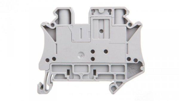 Złączka szynowa rozłączalna 2-przewodowa 6mm2 szara UT 6-TG 3046485 /50szt./