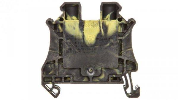 Złączka szynowa 2-przewodowa 10mm2 czarno-żółta UT 10-FE 3047660 /50szt./