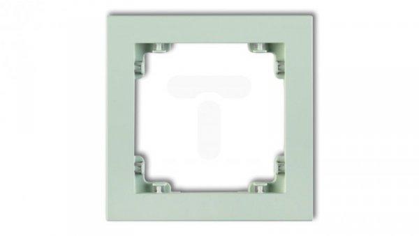 DECO Ramka pojedyncza DECO Pastel Matt miętowy 46DR-1