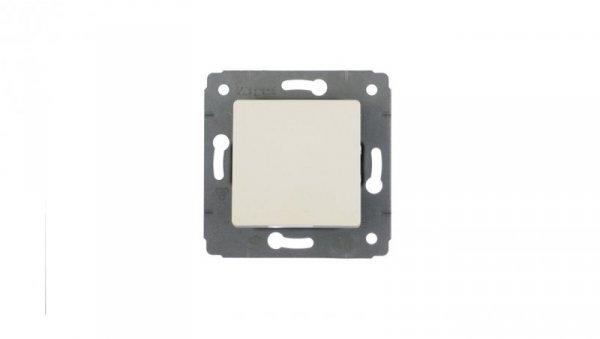 CARIVA Przycisk jednobiegunowy 1Z biały 773611