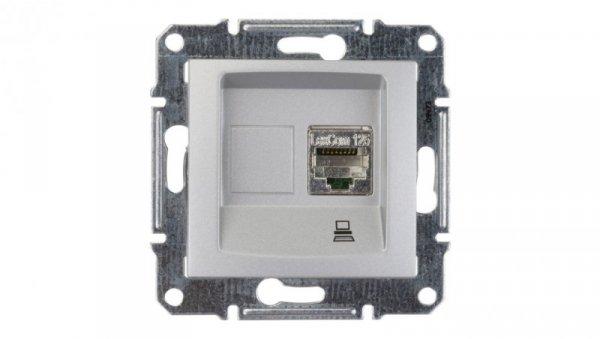 Sedna Gniazdo komputerowe pojedyncze RJ45 kat.5e FTP aluminium SDN4500160