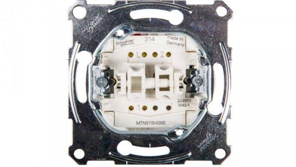 Merten Łącznik świecznikowy 10A 250V IP20 MTN3115-0000