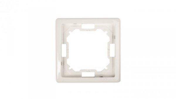 Simon Basic Standard Ramka pojedyncza uniwersalna biała BMR1/11