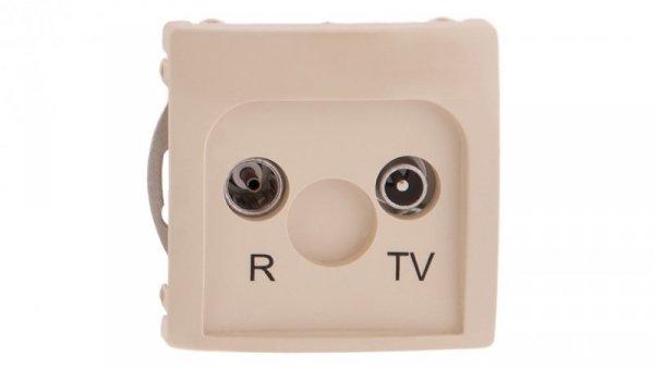 Simon Basic Gniazdo antenowe RD/TV końcowe separowane beżowe BMZAR1/1.01/12