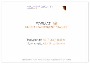 zaproszenie - karta A6, druk dwustronny, kreda 350 g, bez folii, 150 sztuk