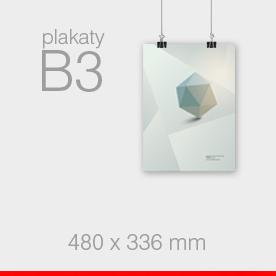plakaty B3 - 336 x 480 mm