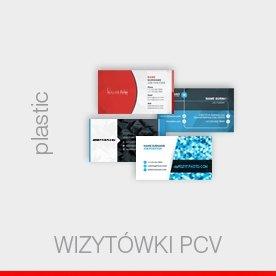 wizytówki plastic - 0,5 - 0,7 mm