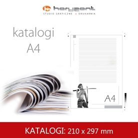 Katalog A4 - 210 x 297 mm