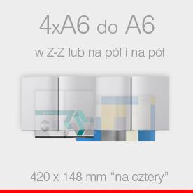 4 x A6 do A6